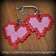 mini hama earrings lillefashion.by.lise