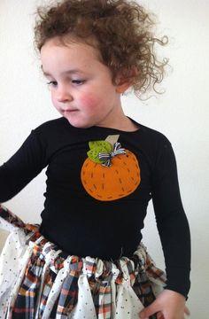Bibbity Boppity Boo Pumpkin Shirt, NB to 5T. $14.00, via Etsy.