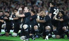 The Haka - one of the greatest pregame events in Rugby
