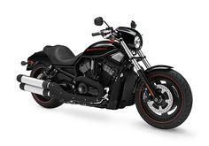 Bart's bike. Harley Davidson Night Rod Special...