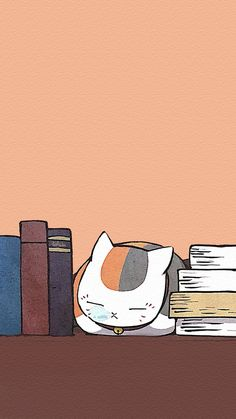 Pretty Art, Cute Art, Natsume Takashi, Natsume Yuujinchou, Simple Illustration, Cute Wallpapers, Neko, Fangirl, Kawaii
