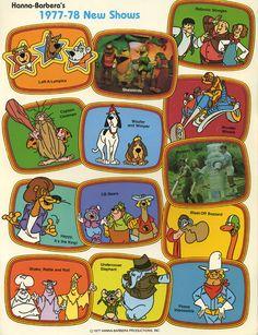 Hanna-Barbera, 1977-78
