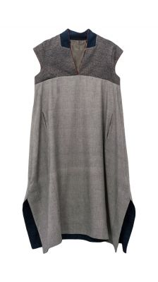 Dresses : Dress Puka mini checks