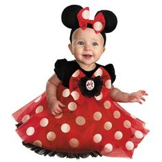 Amazon.com: Red Minnie Mouse Costume - Newborn