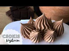 (721) CSOKOLÁDÉS tortaburkoló krém 🍫 - egyszerű és nagyszerű 💥 - BebePiskóta - YouTube Pastry Chef, Cookie Cutters, Sweets, Cookies, Baking, Cake, Recipes, Youtube, Creative