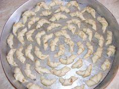Preparare cornulete de casa Desserts, Food, Tailgate Desserts, Deserts, Essen, Postres, Meals, Dessert, Yemek