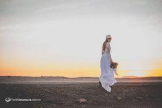 Trash the Dress no Deserto do Atacama - Sibilla e Keith