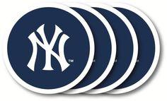 New York Yankees Coaster Set - 4 Pack