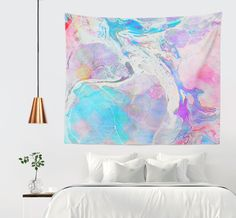 'Messy Paint' Wall Tapestry @society6 #society6 #decor #interiorstyling