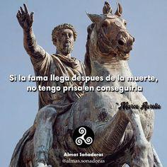 """""""Si la fama llega después de la muerte, no tengo prisa en conseguirla."""" ~Marco Aurelio@esteban_s.w @luis_miguel_santiago #calistenia #motivacion #..."""