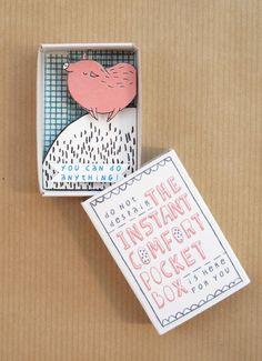 instant comfort matchboxes