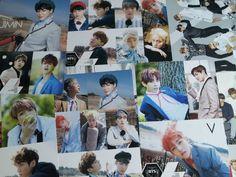 [BTS] Bangtan Boys Bromide Poster 12pcs Sticker Size of A4 Paper x2 Kpop K-POP