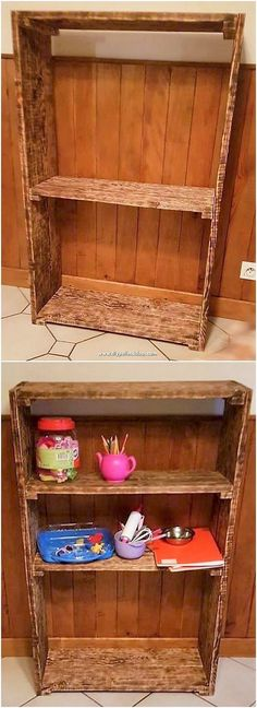 Affordable DIY Ideas Out of Recycled Wood Pallets Pallet Crafts, Diy Pallet Projects, Projects To Try, Pallet Desk, Pallet Furniture, Pallet Designs, Pallet Creations, Easy Woodworking Projects, Recycled Wood