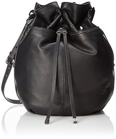 Kooba Handbags Frankie Shoulder Bag, Black, One Size *** This is an Amazon Associate's Pin. Locate the item on Amazon website simply by clicking the VISIT button
