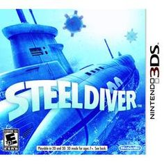 Steel Diver (Nintendo 3DS) Birthday Gifts For Kids, Gifts For Girls, Fun Gifts, Kids Gifts, Nintendo 3ds, Cool Toys, Steel, Game, Children