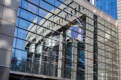 Parlament Europejski - Bruksela, Belgia — Zdjęcie stockowe © artjazz #40128023