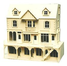 Doll House  YORK ST   Row of 3 Shops with 6 Rooms Above   1/12 SCALE