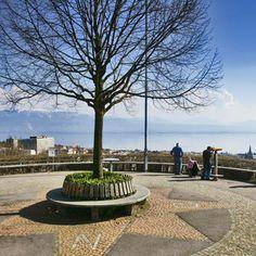 Signal De Sauvabelin à Lausanne ©www. Lausanne, Paths, Sidewalk, Architecture, Nice, Lake Geneva, Mountains, Ride Or Die, Pebble Stone