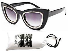 f8326a2fdd899 Vintage Fashion Wm3051-vp Style Vault Thick Bold Oversized Steampunk Cateye  Sunglasses http