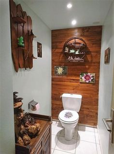 Presented here is an awesome bathroom decoration idea; the washroom paneling idea is making the area look impressive. Not many individuals pay focus on using the pallets for decoration, but those who are interested in it, wins in decorating in an impressive way.