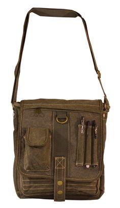 Mens Multi-Pocket  Organizer Crossbody  Messenger Bag  Serbags Womens Messenger  Bag 130041678900d