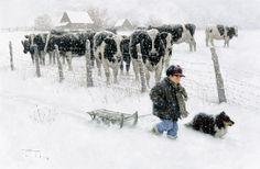 Winter ( by Robert Duncan)