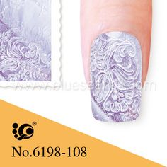 1€, Blue Sea Stamp 6198-108 - CesarsShop / Kynsilakkataivas