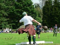 Heavy Inveraray Highland Games