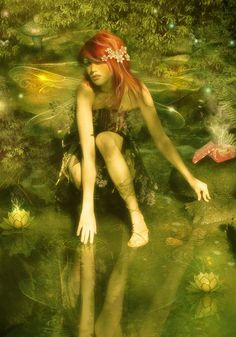 The Asrai are small and delicate female faeries who melt away into a pool of water when captured or exposed to sunlight.....