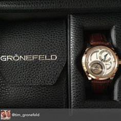 Gronefeld Exclusive Timepieces. @tim_gronefeld @bart_gronefeld this is one of an edition of 28 red gold Parallax Tourbillon ( Winner first prize GPHG) which is finished controlled and ready for delivery. The Parallax is one of the finest handmade watches now available on Planet Earth... Fatti con la mani in Oldenzaal... Netherlands ( which is Holland)! @martinpulli #parallax #parallaxtourbillon #tourbillon #gronefeld #gronefeldexclusivetimepieces #gronefeldtourbillon #independent…