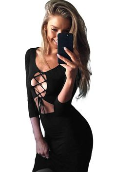 Women Luxurious Lace Party Sexy Dress