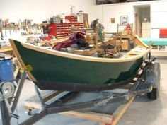 Building A Wooden Drift Boat -- Stopping by Montana Boatbuilders | The Fly Fishing Guide