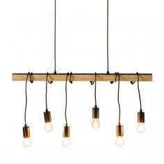 Tolle moderne Pendelleuchte in Chrom Ø9,4cm Hängelampe Leuchte Decke LED innen