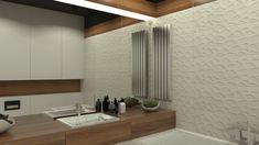 Projekt nowoczesnej łazienki od studia novoART z Gorzowa Wlkp