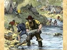 California Gold Rush of 1849 - Video 4th Grade Social Studies, Social Studies Resources, My Father's World, Story Of The World, Us History, American History, Pioneer Day Activities, Us Geography, California History