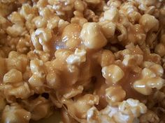 Soft and Chewy Caramel Corn