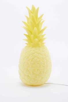 Goodnight Light - Lampe ananas avec prise européenne jaune - Urban Outfitters