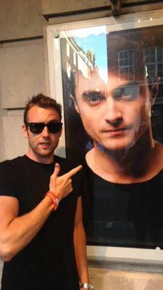 Neville Longbottom  seeing Harry Potter's muggle play:::myohmy