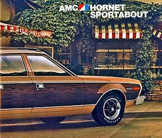 1974 AMC Hornet Sportabout Station Wagon (my dad had one when I was a kid)