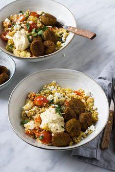 Veggie Recipes, Vegetarian Recipes, Healthy Recipes, Dinner Recipes, Couscous, Healthy Diners, Vegan Main Dishes, English Food, Vegan Dinners