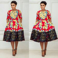 Lovely Ankara Short Gown and Lace Combinations Styles. Lovely Ankara Short Gown and Lace Combinations Styles African Print Dresses, African Print Fashion, Africa Fashion, African Fashion Dresses, African Dress, African Prints, Ankara Fashion, Nigerian Fashion, African Fabric