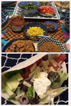 Mexican night Black Bean Tacos, Black Bean Quinoa, Organic Quinoa, Mexican Night, Black Beans, Baking Recipes, Vegetarian Recipes, Meals, Cooking