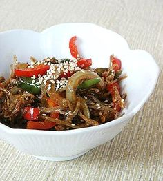 Little Corner of Mine: Stir-Fried Dried Anchovies (Meddruchi Bokkeum)