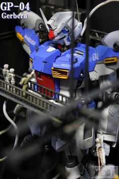 GUNDAM GUY: MG 1/100 RX-78 Gundam GP04G Gerbera - Amazing Customized Build & Diorama!