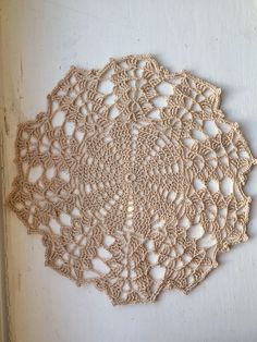 A personal favourite from my Etsy shop https://www.etsy.com/uk/listing/518462883/handmade-crochet-doily-9-inch-doily