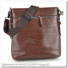 armani hand bags?   ... Armani Handbags - fashionisimo.com - Giorgio Armani Wallets & Handbags Giorgio Armani, Handbags, Messenger Bag, Fashion Brands, Satchel, Mens Fashion, Brown, Color, Moda Masculina