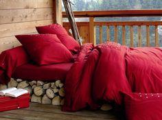 sleeping out in the fresh crisp air