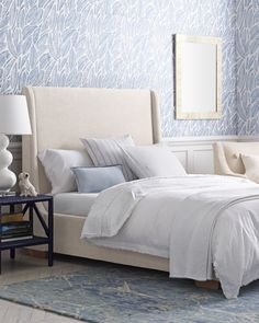 Explore the Serena & Lily luxury bedding collection and discover beautiful cotton bedding sets, sheet sets, duvet covers, quilts, & shams. Shop now. Furniture, White Bedroom Furniture, Bedroom Design, Bed Linens Luxury, Simple Bedroom, Bedroom Colors, Coastal Bedrooms, Luxury Bedding, Bedroom Color Schemes