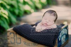 outdoor newborn - Elizabeth Fulton Photography