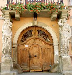 Art Nouveau Door, Romania   ..rh